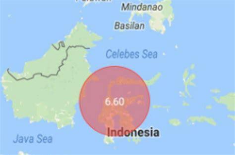 indonesia earthquake powerful  magnitude quake strikes