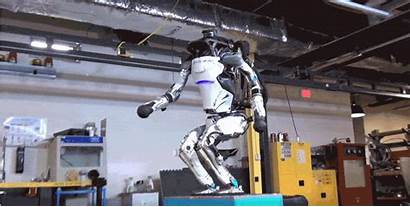 Robot Atlas Boston Backflip Dynamics Robotics Sumario