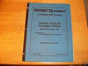 Thermal Dynamics Plasma Torch Manual