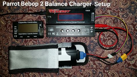 high pro glow parrot bebop  battery charging