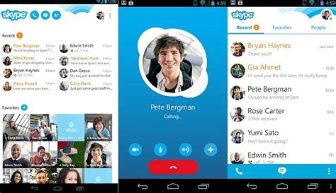 skype app android skype app for android update brings battery savings and