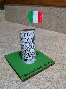 Italy Leaning Tower of Pisa Craft