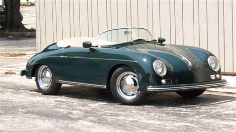 Porsche 911 speedster in pts british racing greencxx / special wishes interior. Porsche 356 Convertible 1957 Green For Sale. 118747665 1956 1957 PORSCHE SPEEDSTER 356 REPLICA ...