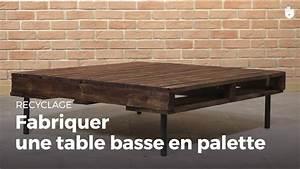 Faire Une Table Basse En Palette : fabriquer une table basse en palette fabriquer des ~ Dode.kayakingforconservation.com Idées de Décoration