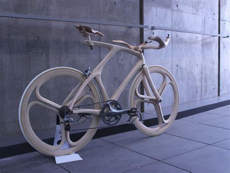 wooden bike  yojiro oshima bicycle design