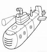 Submarines sketch template