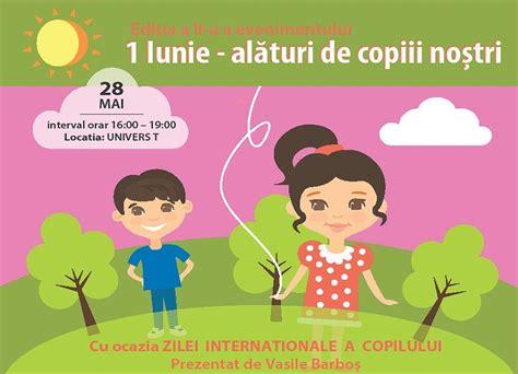 Vineri, 1 iunie, este deschiderea oficiala a festivalului. Se apropie Ziua Copilului: 1 Iunie - Alături de copiii ...