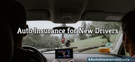 low car insurance for new drivers getting cheap auto insurance for a new driver