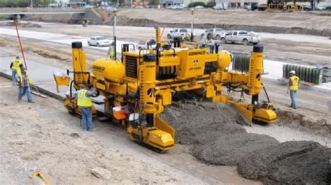 world amazing modern technology road construction machines