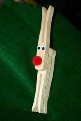 clothespin reindeer ornament tutorials guide patterns