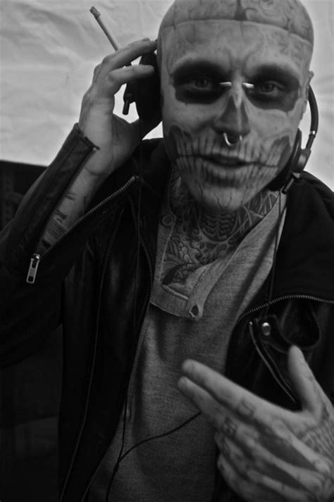 He's so adorable | ZOMBIE BOY | Rick genest, Tattoos for guys, Boys