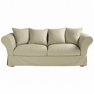 green design organic cotton 3 4 seater sofa in mastic roma With canape cuir roma
