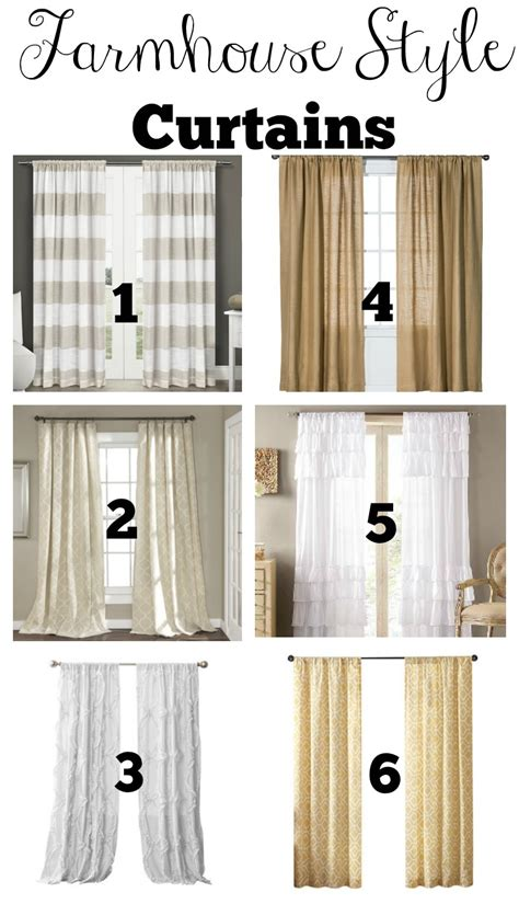 kitchen curtain ideas transitioning to farmhouse style shopping guide Farmhouse