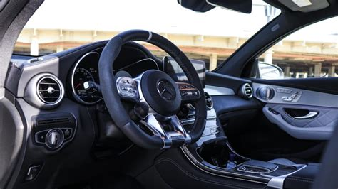 Even if you floor the throttle, the motor never feels out of breath and manages to pull the vehicle at an impressive pace. 2020 Mercedes-Benz GLC 63 AMG, the ultimate crossover - Dubai, Abu Dhabi, UAE