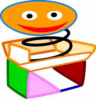 Jack Box Toy Face Happy Clip Clipart