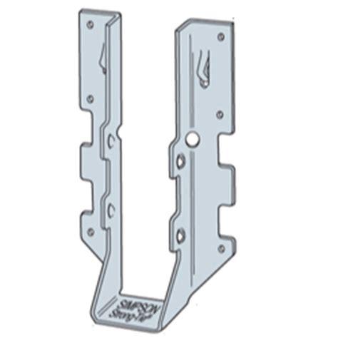 floor joist hangers types decks different types of joist hangers