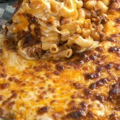 cheesy casserole recipe cheesy hamburger casserole recipe