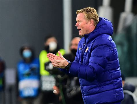 Fans concerned for Barca boss Koeman after second ...
