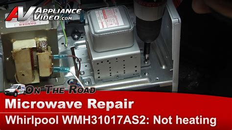 Kitchenaid Oven Not Heating Up by Whirlpool Microwave Not Heating Magnetron High Voltage