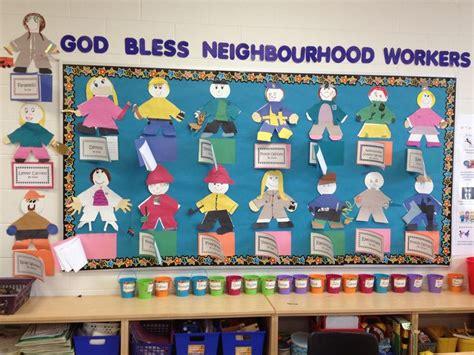 community helpers bulletin board bulletin boards 701 | 388ccc5aae222eb397743d112fbd7784 teaching kindergarten teaching ideas