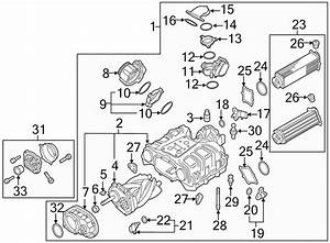 2016 Audi A8 Supercharger Bracket  3 0 Liter  Gas  2015