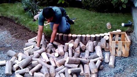 como instalar  jardin  piedras decorativas youtube