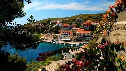 Town Croatia Mountain Wallpapers Background Lovely Desktop