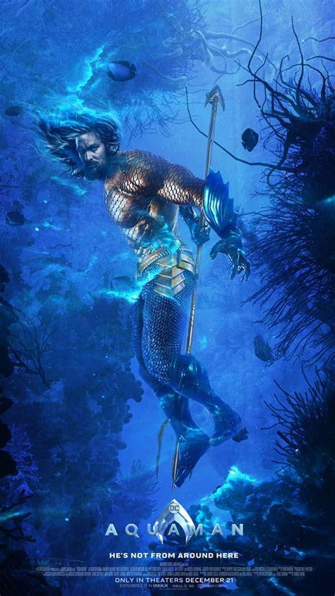aquaman underwater poster iphone wallpaper iphone wallpapers