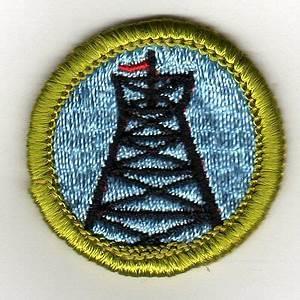 pioneering merit badge type g cloth back 1969 71 mint
