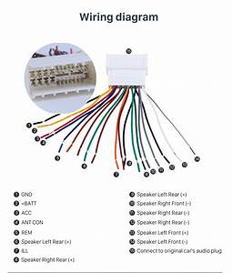 Kia Car Stereo Wiring Diagram