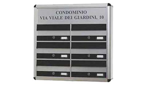 Cassette Postali Condominiali Esterne by Eurocasellari Cassette Postali Bacheche Riparazioni