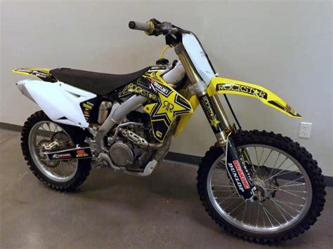 suzuki motocross bikes for sale 2008 suzuki rm z 450 dirt bike for sale on 2040motos