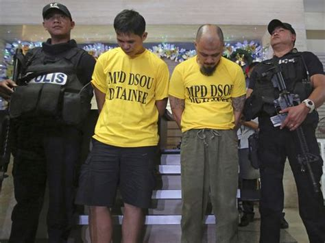 2 Filipino Militants Who Left Bomb Near Us Embassy Captured