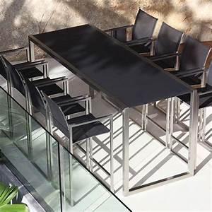 Royal Botania  Ninix  Bar  Table  Stool  Dining  Outdoor