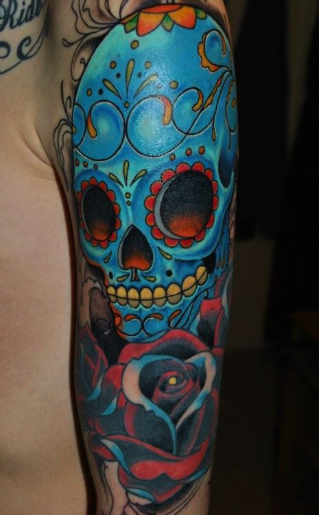 Mexican Skull Tattoo Skullsproject
