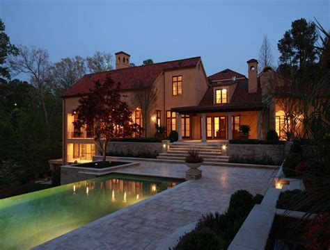 Mediterranean Lakefront Estate In Atlanta, GA Re Listed