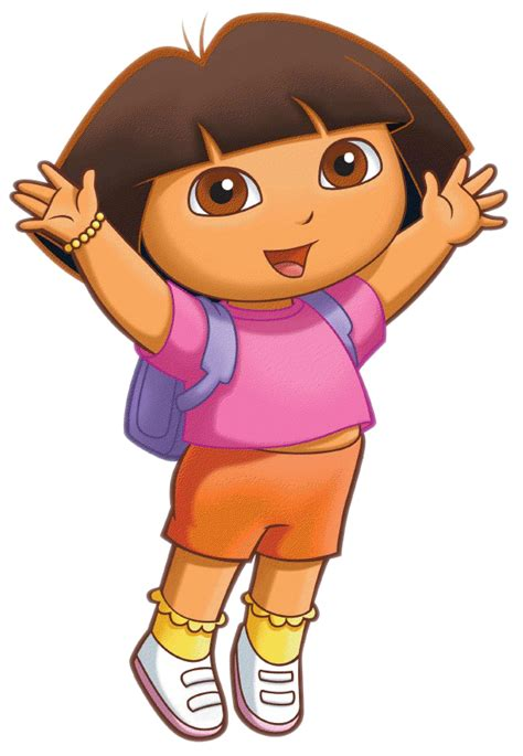 Cartoon Characters Dora The Explorer Png Pack