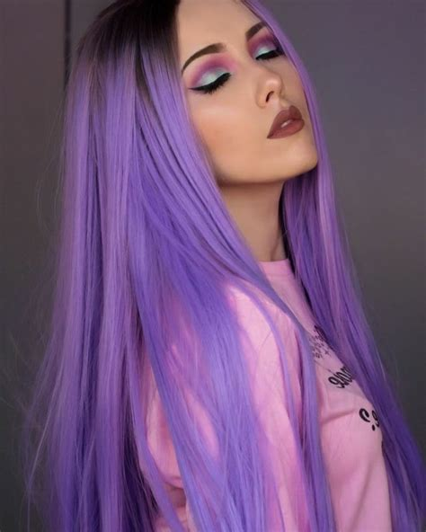pastell lila haare 1001 ideen f 252 r bunte haare bunte haarfarben sind immer