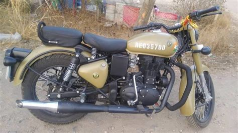 Its continued service in the army is a testimony to its dependability and resilience. Used Royal Enfield Classic 350 Bike in Dharwad 2019 model, India at Best Price, ID 35947