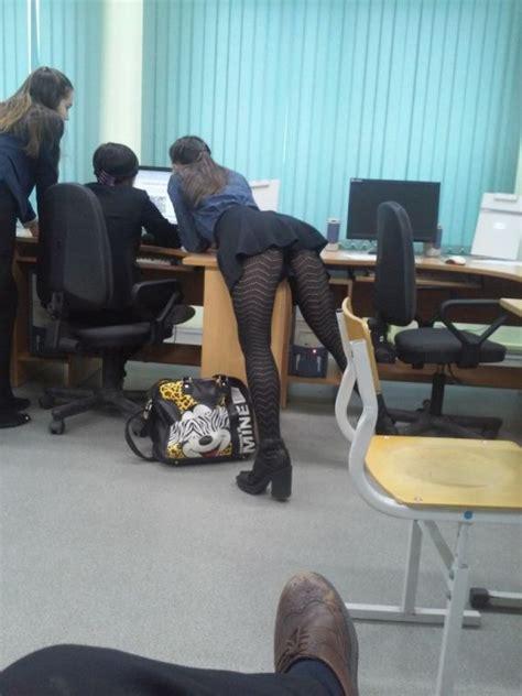 classroom creepshot desk