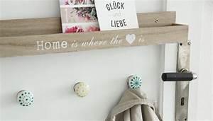 Garderobe Alte Tür : wandgarderobe selbst gemacht ideen dekoration deen ~ Michelbontemps.com Haus und Dekorationen