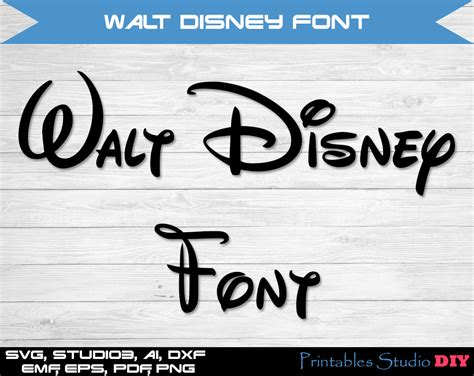 It is a free font. Disney font SVG cuttable Alphabet and Numbers Svg Dxf Eps TTF