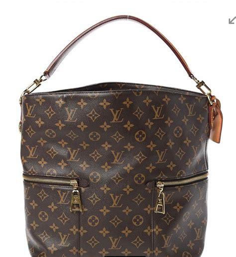 louis vuitton monogram melie hobo bag color brown excellent condition  stdibs