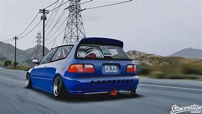 Honda Civic Stance Tuning Eg6 Mods Wallpapers