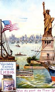 when did get color the copper statue of liberty as it appeared in new