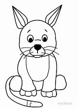 Coloring Pages Webkinz Printable Blank Template Cool2bkids Templates sketch template