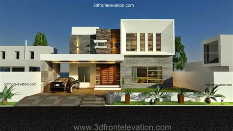 front elevationcom   kanal contemporary house