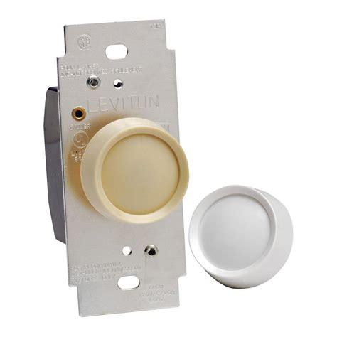push button light switch home depot leviton sureslide 600 watt single pole 3 way incandescent