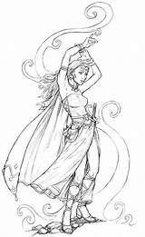 Coloring Deviantart Dungeons Sorceress Pages Dragons Evil Staino Adult Mage Dragon Drawing Colouring 2007 Grown Line Drawings Anime Metallia Mad sketch template
