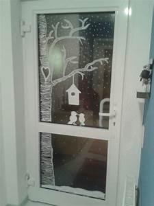 Fenster Bemalen Weihnachten : haust r mit kreidemarker bemalt t ren lackieren haust ren streichen und deko weihnachten fenster ~ Watch28wear.com Haus und Dekorationen